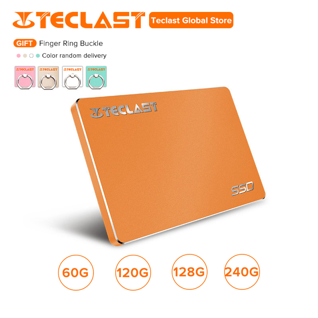 Teclast SATA SSD Speed 60GB 120GB 128GB 240GB Up to 520M/s sequential read Built-in 256MB high speed cache sata ssd