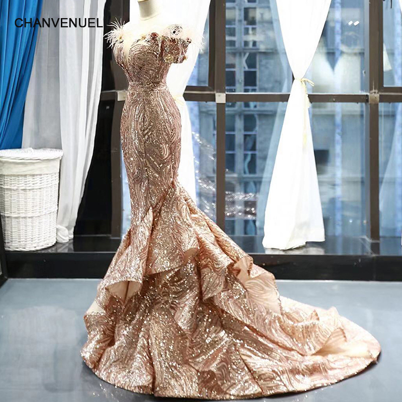 RSM66749 shiny mermaid wedding guest   dress   off the shoulder sweetheart party   dress   lace up back trumpet   evening     dress   with train