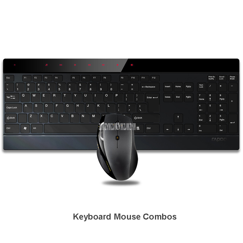 8900P 1600DPI 5G 4.0mm Ultra-Thin Intelligent Wireless Keyboard and Laser Mouse 2-in-1 Combo - IF Design Award Winner notebook недорго, оригинальная цена