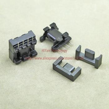 20sets/lot EPC17 8 6 PC95 Ferrite Magnetic Core and 4 Pins Top Entry Plastic Bobbin Customize Voltag