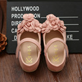 New arrival children shoes girls beautiful flower princess shoes kids lovely single shoes girls cute leather shoes kids