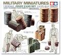 Бесплатная доставка Tamiya 35026 1/35 маштаба военные миниатюры модель для сборки барабан и канистры комплект