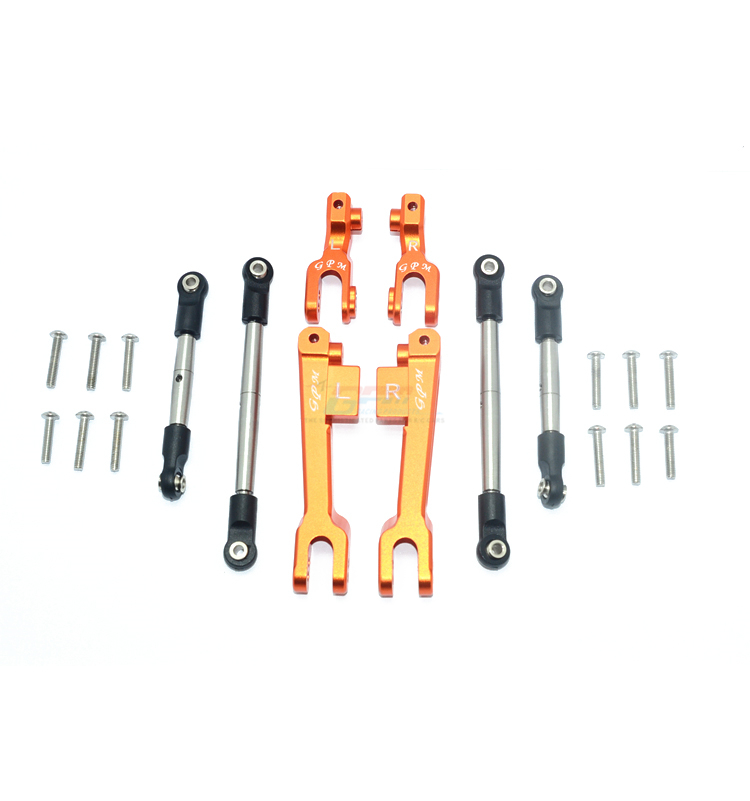 Aluminum Front Suspension Linkage Sway Bar for TRAXXAS 1//7 UDR Replace 8596 2pcs