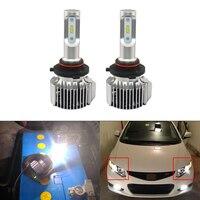 Прямой Подходит для Honda Civic Coupe и Sedan 2012-2006 дальнего светодио дный света светодиодные Сменные лампы Plug-N-Play CAN-bus без ошибок автомобиля фары