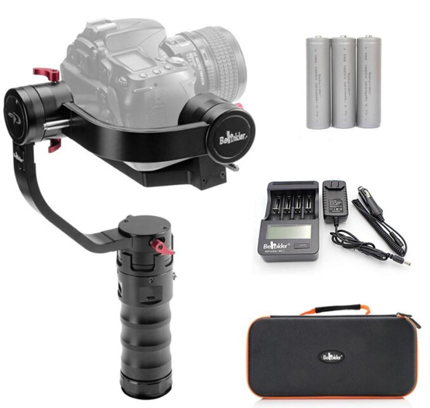 Beholder DS1 3-Axis Handhled Gimbal Stabilzier for Canon 5D 6D 7D DSLR  GH4 GH7 Nikon D810 D800 DMC Sony A7 NEX series потребительские товары cs pro cs 1 dslr 6d canon 5d 3 7 d t3i d800 d7100 d3300 pb039