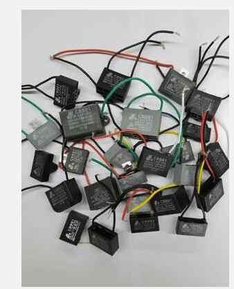 500g pacote componente eletrônico misto ventilador capa capacitor de ar condicionado cerca de 30 pces