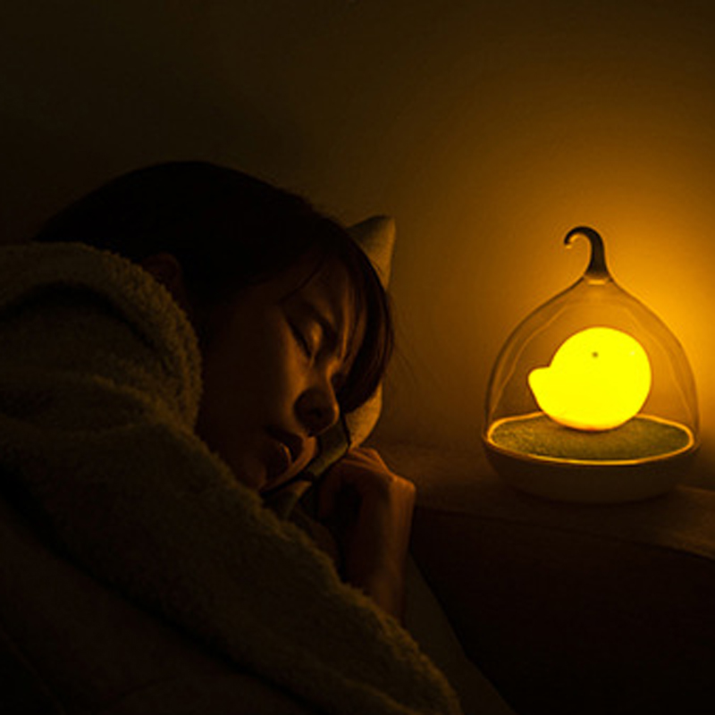 ECO-Friendly LED Night light sleep Lamp Touch Sensor Bird Light Childrens Toys Birthday Gifts