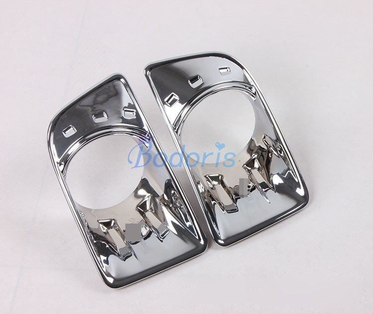 Bumpers Free Shiping New Abs Chrome Fog Lamp Cover For Isuzu D-max 2012-2014 Fog Lamp Cover Dmax Accessory Fog Light Cover Accessories