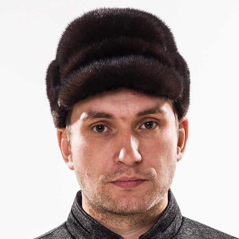 Winter Hats For Men Mink Fur Snow Warm Men Solid Classical Cap Forward Russia Middle-aged Rex Hat For Men free shipping f694zz abec 1 10pcs 4x11x4mm flanged ball bearings f619 4zz