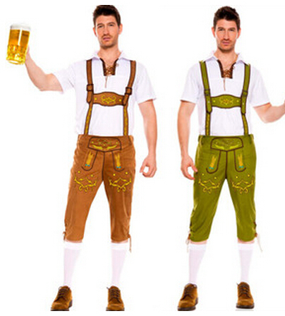 Bavaria Beer Festival costume German Beer Festival clothing and pants suit male models of Halloween service