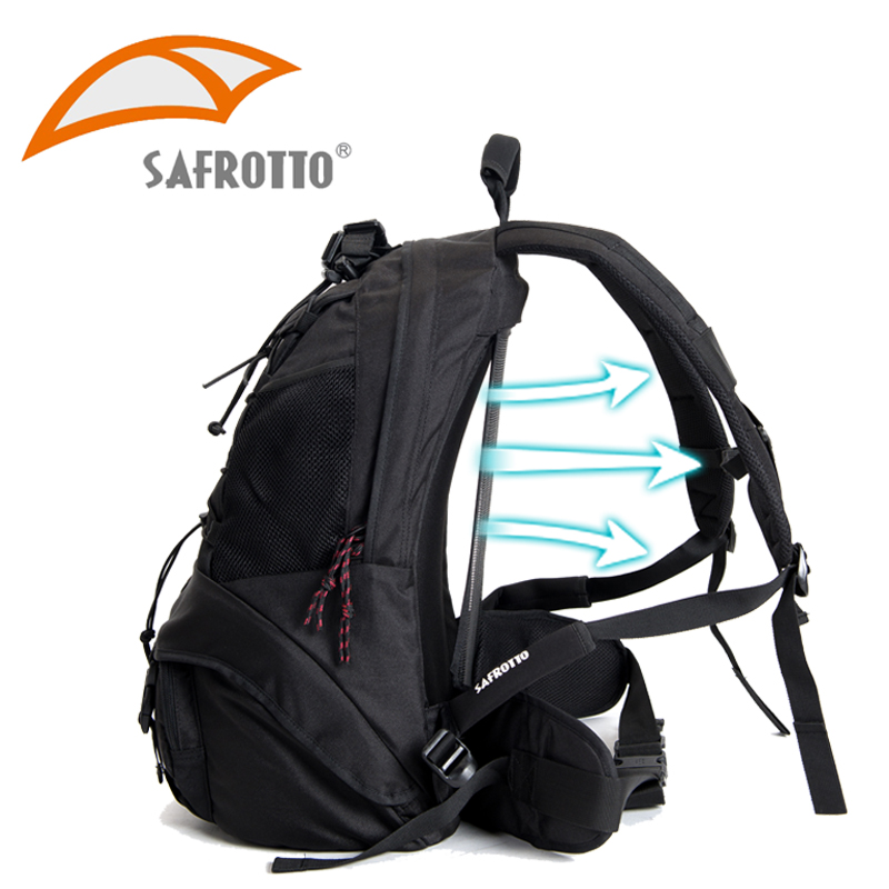SAFROTTO Professional Hig Quality Laptop PC Digital Camera Bag Rain-proof Photographic Backpack Lens Protector Soft Divider Case exerpeutic 1000 magnetic hig capacity recumbent exercise bike for seniors