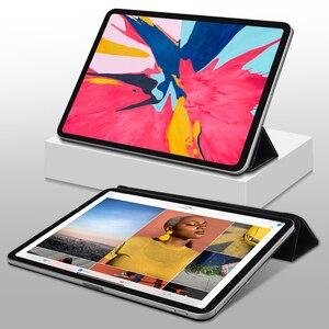 Image 2 - מקרה עבור iPad פרו 11 2018 חכם כיסוי עבור iPad פרו 12.9 2018 מקרה Slim תמיכה לצרף תשלום עבור iPad 11 12.9 אינץ 2020 מקרה