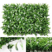 Hedge Plant Grass Decorative Creative Artificial Plant Fake Plant For Wall Garden Decor