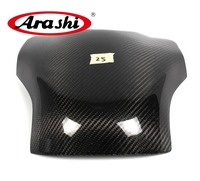 Arashi For YAMAHA YZF R1 2009 2010 2011 2012 2013 YZF R1 YZFR1 Carbon Fiber Tank Cover Gas Protector Motorcycle Parts Shield
