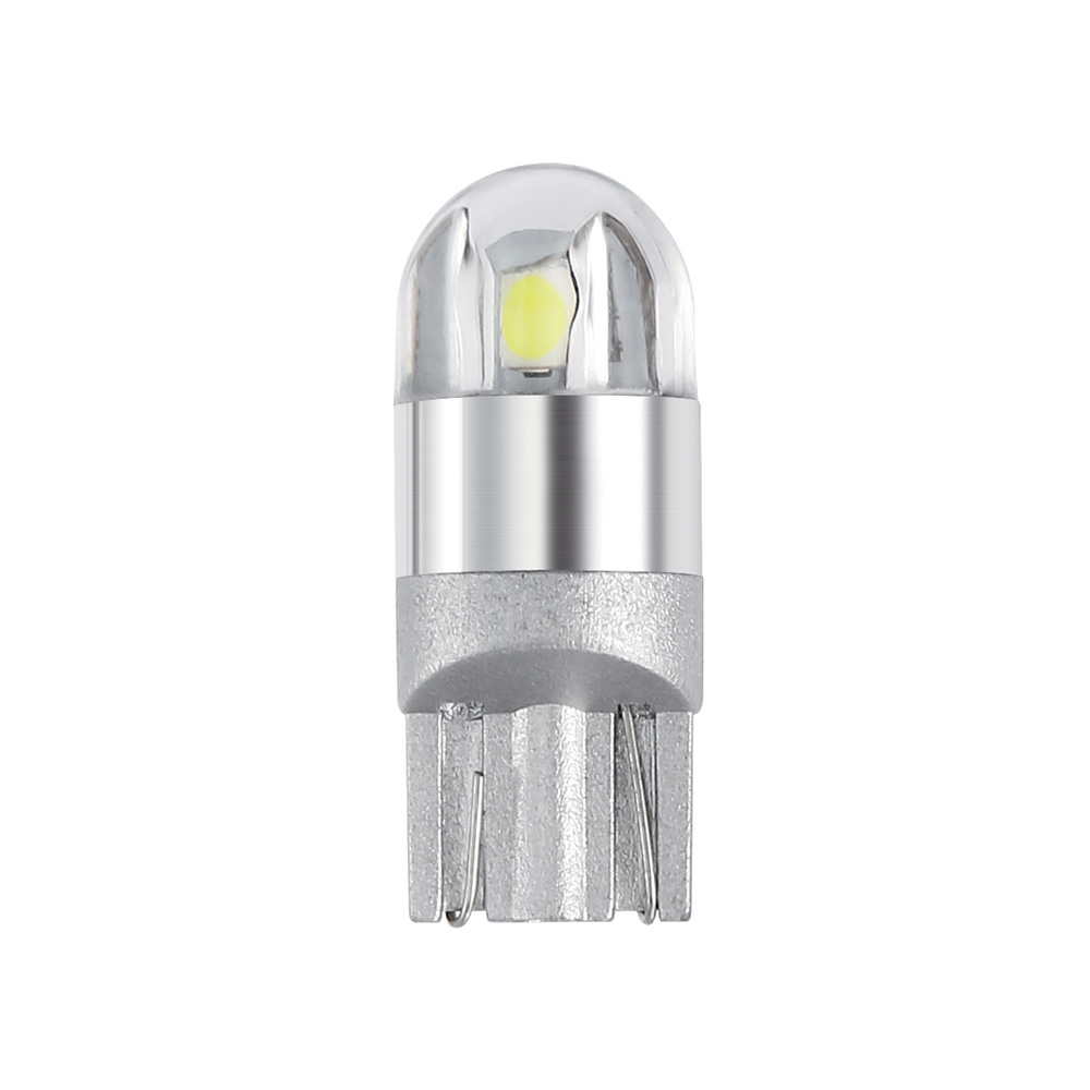 1 Piece T10 led Bulb w5w LED Car DRL 3030 SMD 194 168 COB Clearance Lights Reading Interior Lamp 12V 6000k White woxma t10 led w5w 12v t10 car light auto interior bulb 6000k white 12 smd silica cob chip 168 194 clearance light for car 10pcs