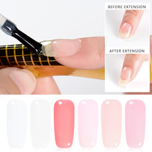 Voldoen Over 7 Ml Poly Extention Gel Polish Clear Roze Naakt Nail Tips Uv Builder Nail Gel Varnish Diy Nail art Gel Gereedschap(China)