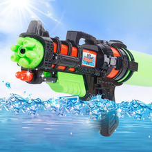 Children Water Gun Toys  Bag Backpack Squirt Toy Pistol Spray Water Gun Toy Beach Water Spray Pull-out Summer Outdoor Water Toys