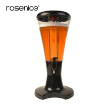 Beverage-Juice-Dispenser Wine-Tower Beer with LED Colorful Shinning-Lights New 3ltabletop