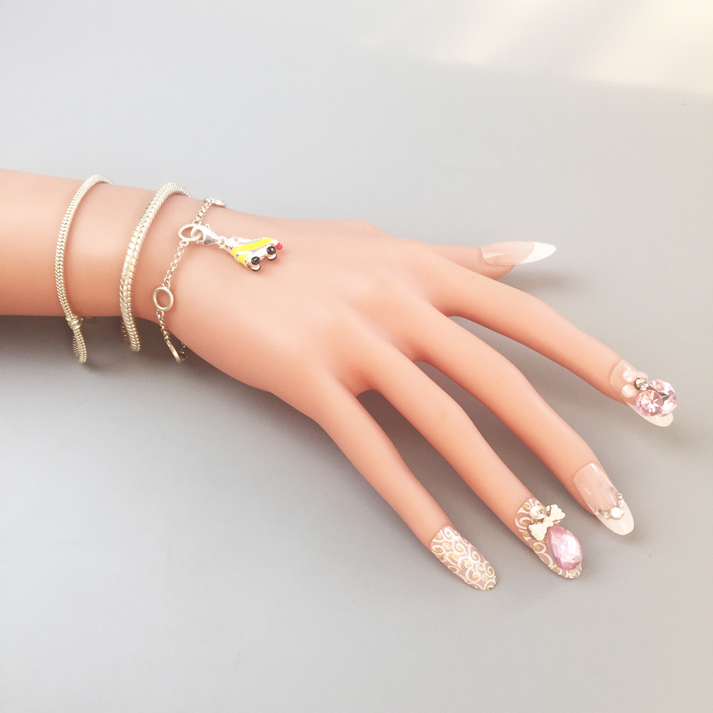 Roller Skates Charms Pendant,2018 Fashion Jewelry 925 Sterling Silver Sporty Gift For Women Men Boy Girls Fit Bracelet Necklace