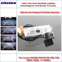 Liislee Intelligentized Reversing Camera For Lexus ES300 ES330 ES 300 330 2002~2006 Rear View / Dynamic Guidance Tracks