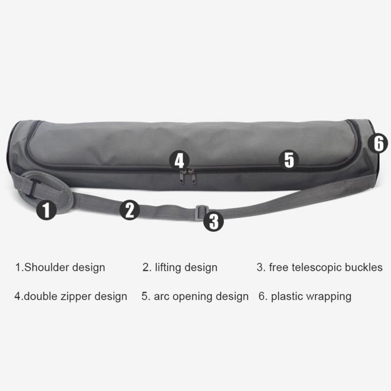 Hot Multifunctional Yoga Bag Gym Mat Bag Yoga Backpack Waterproof Yoga Pilates Mat Case Bag Carriers Warm And Windproof yoga Mat Not Including