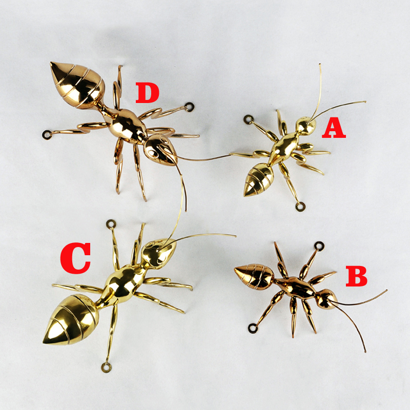 European Model Room Soft Decoration Wall Hanging Art Crafts Metal Ant Copper Rose Gold Creative Ornaments Ornament Gold Ornaments Metalwall Ornaments Metal Aliexpress