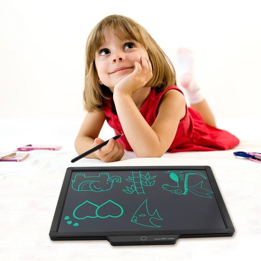 20 pouces LCD écriture tablette numérique tableau de peinture dessin écriture tampons Message mémo tableau d'affichage Doodle Boogie tableau noir