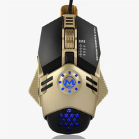 Advanced 2017 New Wired Game Mouse Wired Scroll Wheel Gaming Mouse USB 4800 DPI 3 Button Optical Mice For PC Laptop Notebook