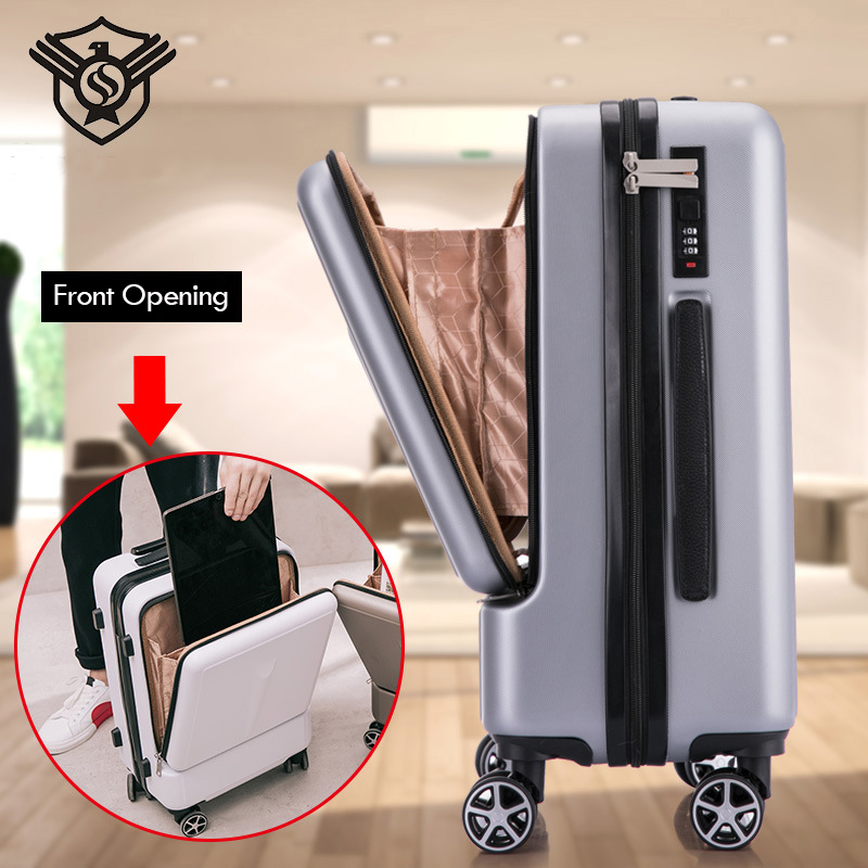 Front Opening Valise Suitcase Bag