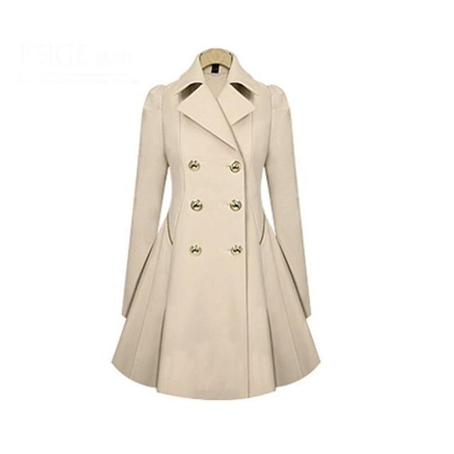 Mulheres primavera Outono Trespassado Longo Casaco Feminino Longo-Sleeved Abrigos Manteau Femme Elegante Ruched Sólida Estilo Fino