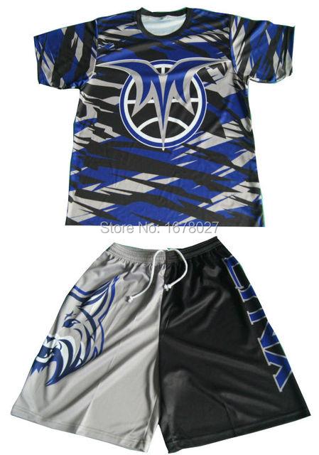 71ac426c1c4 Custom Full Sublimation Printing Lacrosse Shooting Shirts-in Tennis ...