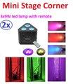 Светодиодный прожектор  3x9 Вт  3 в 1  RGB  мини-угол  сценический эффект  3/6 DMX каналов  диско-лазерное стробоскопическое оборудование для диджеев...