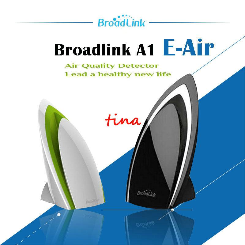 Prix pour Broadlink A1, wifi Air Purificateurs Intelligent, intelligent domotique, E-air Air Quatily Détecteur Tester Des humidité PM2.5