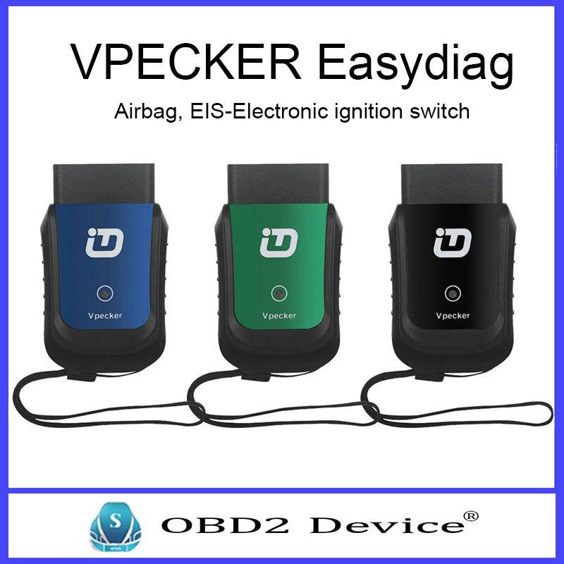 Новый vpecker EasyDiag Беспроводной OBDII полный диагностический инструмент Поддержка bluetooth лучше, чем Старт iDiag Бесплатная доставка