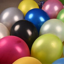 50pcs/lot 12 Inch Thicken 3.2g Candy Pearl Balloon Birthday Party Decorations kids Inflatable Air Ball Wedding Supplies balons