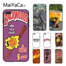 ФОТО maiyaca backwoods honey berry cigars style hard shell phone case for iphone 6 6s 6plus 6s plus 7plus 8 8plus 5 5s 5c case cover