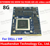 Best for Dell Alienware 18 M18X R2 R3 R4 18 Inch Laptop nVidia GeForce GTX 980M Sli GPU 8GB GDDR5 Graphics Card