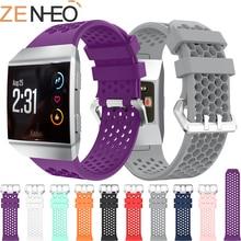цена Smart Accessories Sport Silicone Bracelet Wrist For Fitbit Ionic Straps Wristband Replacement Watchband for Fitbit ionic Bands онлайн в 2017 году