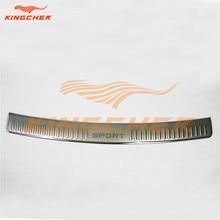 Нержавеющая сталь хром стайлинг задняя дверь бампер подоконник отделка бар защиты для лендровер Rover 2010 2011 2012