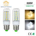 Bombillas LED Light Bulb E27 220V SMD5730 Lampada LED Corn Bulb Energy Saving Lamp Replace 25W 40W 50W 60W 70W Incandescent Bulb