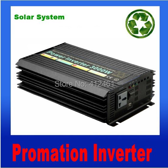 Pure Sine Wave Power Invertor 3000w 12VDC to 220VAC dc 12v to ac 220v Power Invertor Car Invertor ConverterPure Sine Wave Power Invertor 3000w 12VDC to 220VAC dc 12v to ac 220v Power Invertor Car Invertor Converter