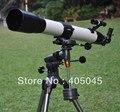Visionking 90 мм 90-1000 Экваториальная Монтировка Пространство Рефрактор Астрономического Телескопа Открытый Наблюдения Неба Астрономии Телескоп
