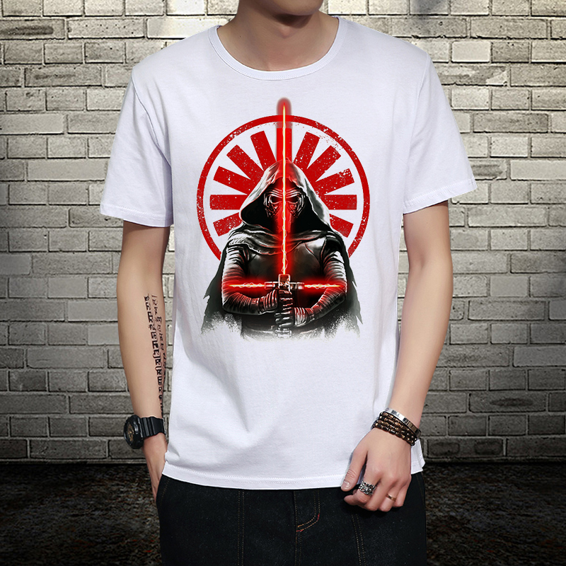 Star wars yoda/darth vader unique darthworks at-at soft walker lightsaber the darth lion king armorLock cosplay t shirt t-shirt