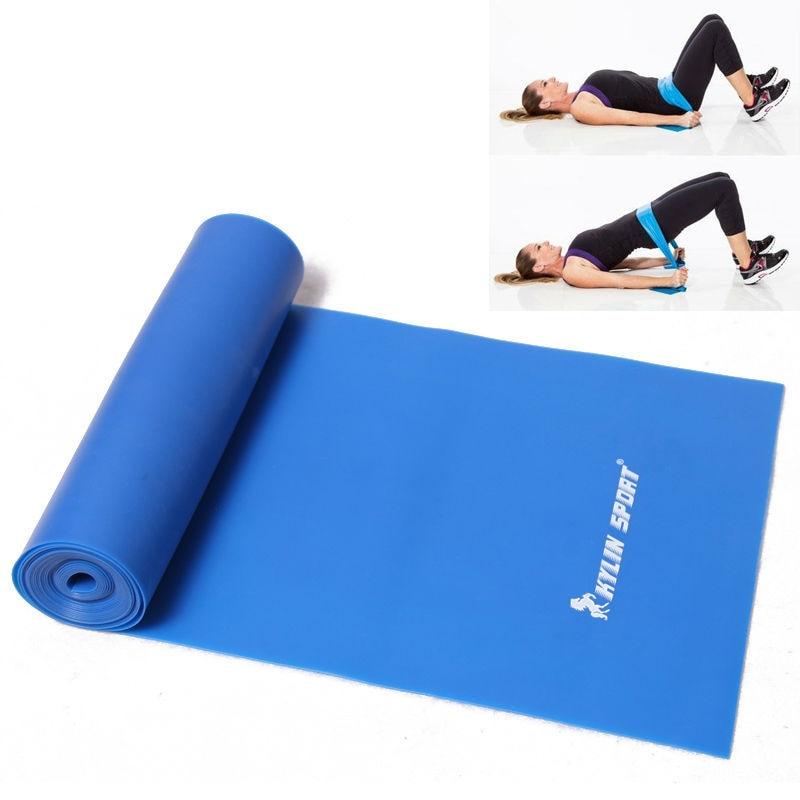 2 m stretch kvinnor eller män drar rep av yoga motstånd band - Fitness och bodybuilding