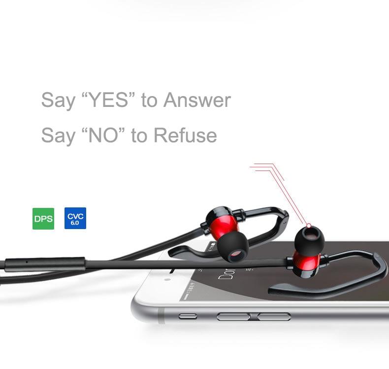 Batería de Repuesto ANBES Auriculares Inalámbricos Bluetooth 4.1 Auriculares de
