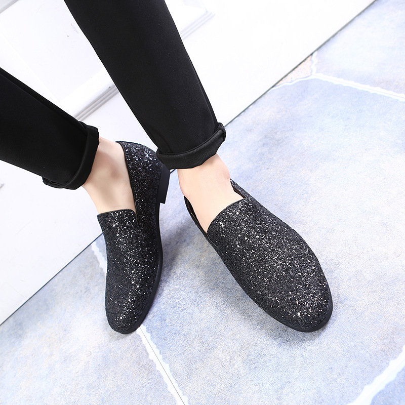 2018 New Fashion Men's Hairstylists chaussures en cuir mocassins - Chaussures pour hommes - Photo 4