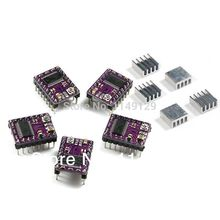 5PCS/LOT Geeetech Pololu DRV8825 with Heatsink stepper driver for RepRap Prusa Mendel controller board Free Shipping