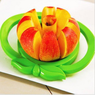 Eco-friendly Multifunction High Quality Big Size Kitchen Apple Slicer Corer Wedge Cutter Pear Fruit Divider Tool Comfort Handle
