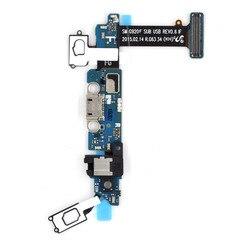 Telefon komórkowy Wymiana Część dla Samsung Galaxy S6 G920F Port Ładowania Podłącz Flex Cable + Gniazdo Słuchawkowe + Mikrofon + czujnik Fle