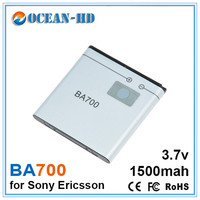 BA700 1500mAh China Brand Mini Replacement Lithium Mobile Phone Battery For Sony Ericsson XPERIA RAY ST18i